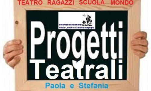 Tutti i progetti per le scuole – Teatro, Lettura, Drammatizzazione – Scuola Infanzia, Elementare, Media di primo e secondo grado di Alba, Langhe e Roero.