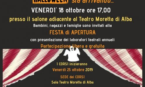 """Presentazione dei laboratori teatrali in inglese e in italiano dell'associazione """"DonChisciotteSiamoNoi"""" VENERDI' 18 OTTOBRE, per bambini e ragazzi dai 4 ai 18 anni."""